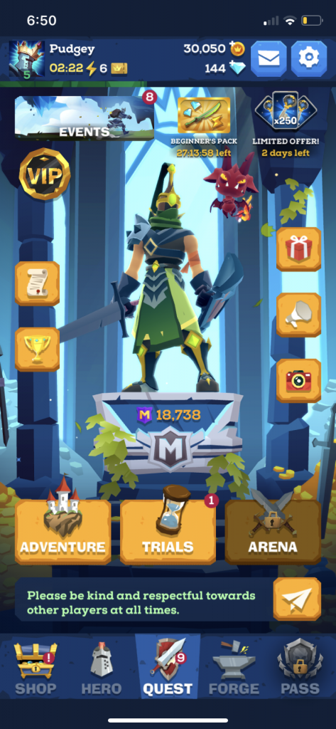 Mighty Quest For Epic Loot For iOS - First Impressions 11