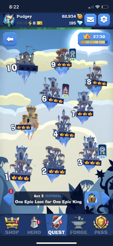 Mighty Quest For Epic Loot For iOS - First Impressions 15