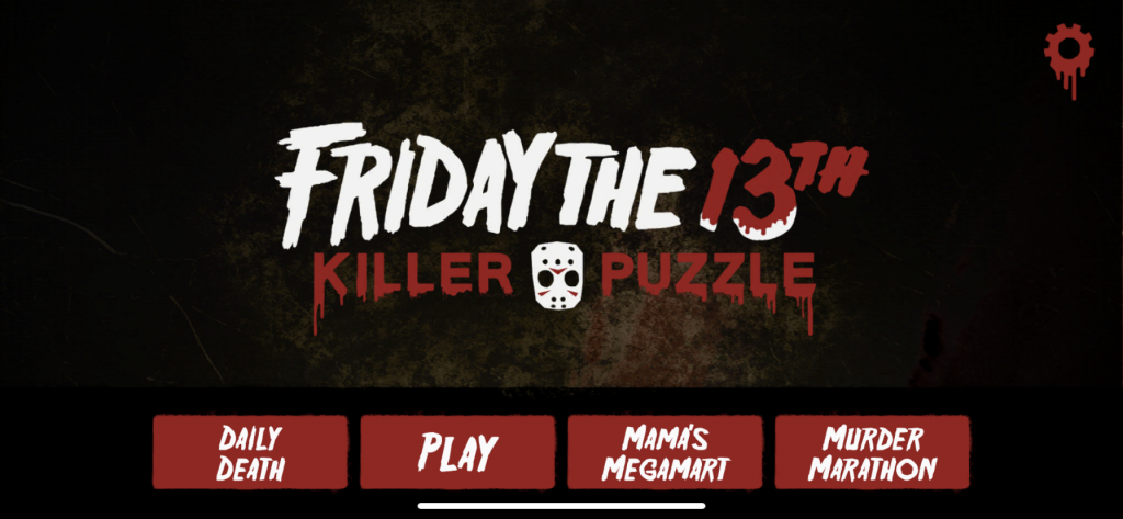 Game of The Day: Friday The 13th Killer Puzzle Game 3
